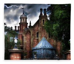 The Haunted Mansion Fleece Blanket