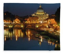 Eternal Sound Of Rome Fleece Blanket