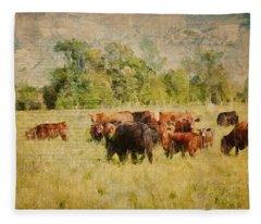 The Herd Fleece Blanket