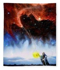The Hermit's Path Fleece Blanket