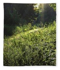 The Highlighted Trail Fleece Blanket