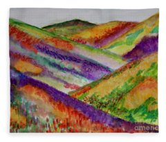 The Hills Are Alive Fleece Blanket