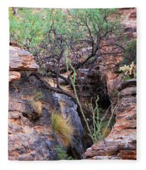 The Hole - Mount Lemmon Fleece Blanket