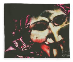 The Hollywood Freak Show Fleece Blanket