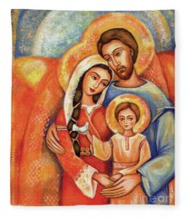 The Holy Family Fleece Blanket