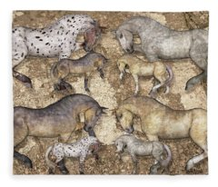The Horse Collection Fleece Blanket