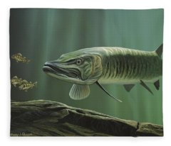 The Hunter - Musky Fleece Blanket