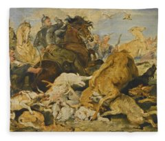The Hunting Of Chevy Chase Fleece Blanket
