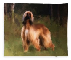 The Huntress Fleece Blanket