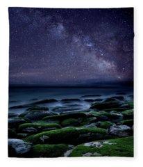 The Immensity Of Time Fleece Blanket