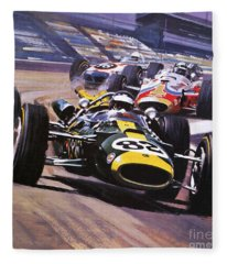The Indianapolis 500 Fleece Blanket