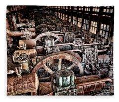 The Industrial Age Fleece Blanket