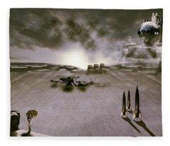 The Industrial Revolution Fleece Blanket