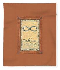 The Infinity Fleece Blanket