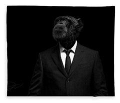 The Interview Fleece Blanket