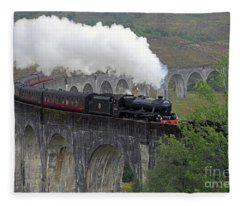 The Jacobite Steam Train Fleece Blanket