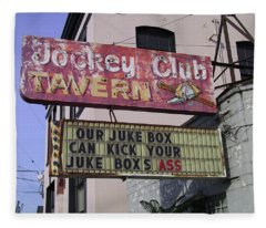 The Jockey Club Fleece Blanket