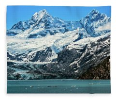 The John Hopkins Glacier Fleece Blanket