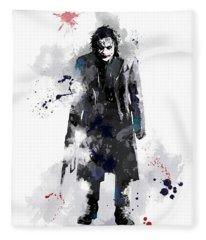 The Joker Fleece Blanket