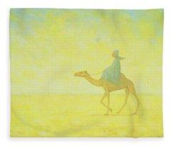 Desert Storm Fleece Blankets