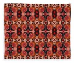 The Joy Of Design 43 Arrangement 3 Fleece Blanket