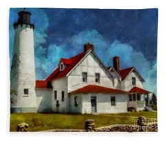 The Keeper's House 2015 Fleece Blanket
