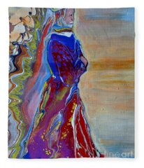 The King's Robe Fleece Blanket