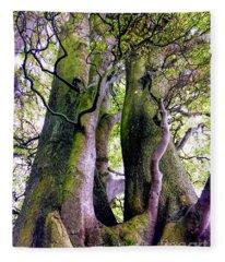 The Kings Tree Fleece Blanket