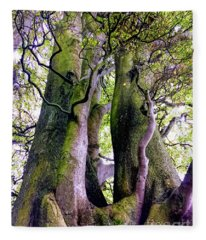 The Kings Tree Fleece Blanket