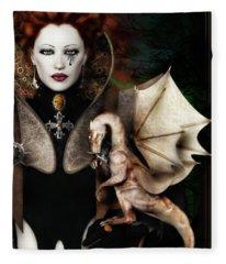 The Last Dragon Fleece Blanket