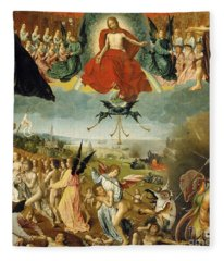 The Last Judgement Fleece Blanket