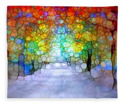 The Laughing Forest Fleece Blanket