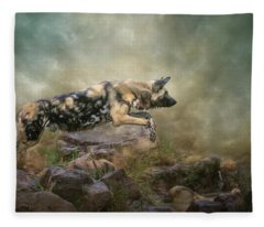 The Leap Fleece Blanket