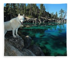 The Light Of Lake Tahoe Fleece Blanket