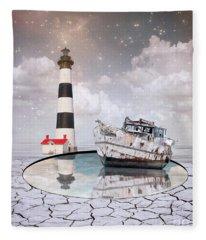 Cylindrical Fleece Blankets
