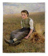 The Little Gleaner Fleece Blanket