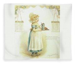 The Little Maid Fleece Blanket