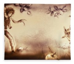The Little Prince And The Fox Fleece Blanket