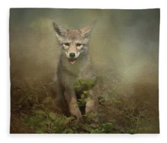 The Littlest Pack Member Fleece Blanket
