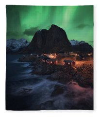 The Lofoten Dream Fleece Blanket