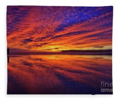 The Lone Photographer Fleece Blanket