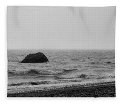 The Lone Rock Fleece Blanket