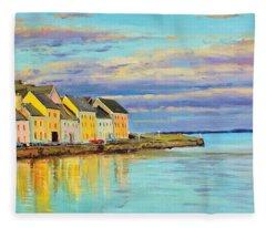 The Long Walk Galway Fleece Blanket