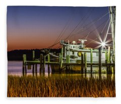 The Low Country Way - Folly Beach Sc Fleece Blanket