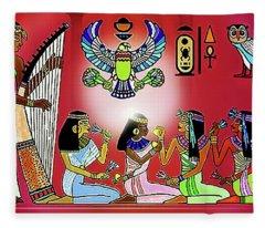 The  Lure Of Egypt Fleece Blanket