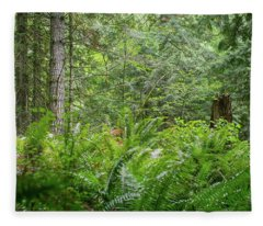 The Lush Forest Fleece Blanket