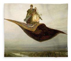 The Magic Carpet Fleece Blanket