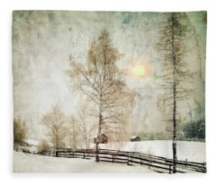 The Magic Of Winter Fleece Blanket
