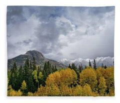The Magnificance Of Aspens Fleece Blanket
