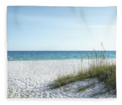 The Magnificent Destin, Florida Gulf Coast  Fleece Blanket